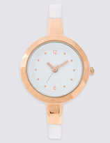 M&S Collection Thin Round Face Watch