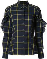 Sea L/S ruffle shirt