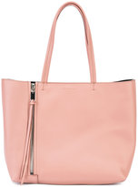 Elena Ghisellini shopper tote - women - Leather - One Size