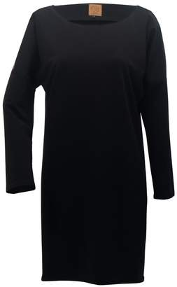Atelier Minimalist Bow Dress Black & Gold