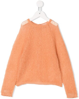 Il Gufo Open Knit Cardigan