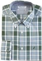 Nautica Classic Fit Wrinkle Resistant Pacific Plaid Shirt