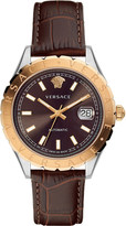 Versace Automatic brown dial strap