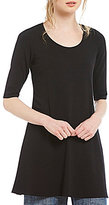 Eileen Fisher Jersey A-Line Tunic
