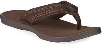 Tommy Bahama Men's Sumatraa Leather Thong Sandals