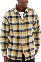 Stanley Cotton Flannel Button-Front Shirt
