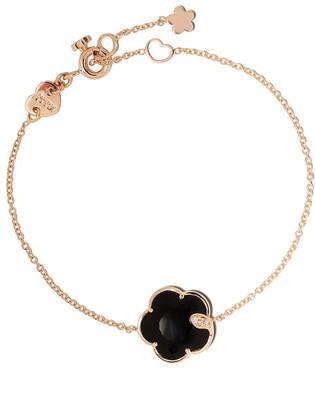 Pasquale Bruni 18kt rose gold Petit Joli onyx and diamond bracelet