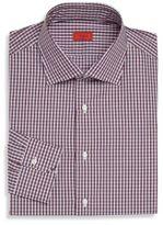 Isaia Check Quadretti Dress Shirt