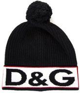 Dolce & Gabbana Beanie Hat With Logo