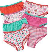 JCPenney Okie Dokie 7-pk. Briefs - Toddler Girls 2t-5t