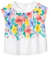 Gymboree Floral Top