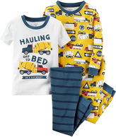 Carter's 4-pc. Pajama Set - Baby Boys newborn-24m