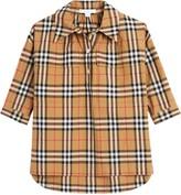 Burberry Vintage Check Shirt Dress
