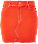 Topshop PETITE High Waist Mini Skirt