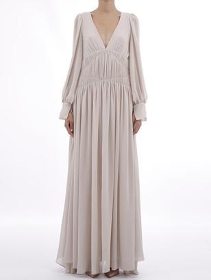 Stella McCartney V-Neck Maxi Dress