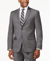Tommy Hilfiger Slim-Fit Solid Grey Jacket