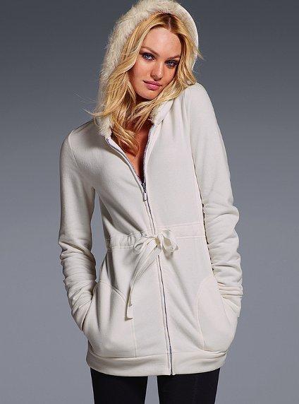 Victoria's Secret Faux-fur Fleece Tunic