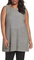 Eileen Fisher Plus Size Women's Tencel & Wool Sleeveless Tunic