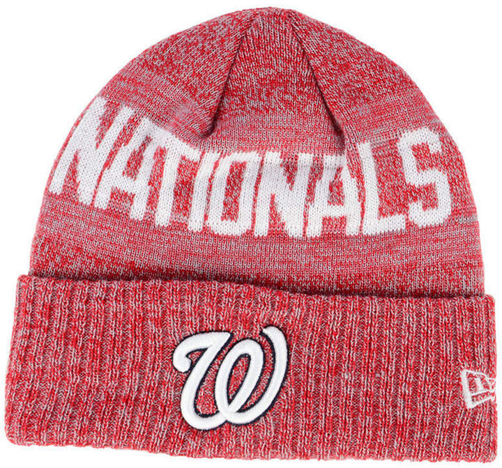 a5801947c Washington Nationals Crisp Color Cuff Knit Hat
