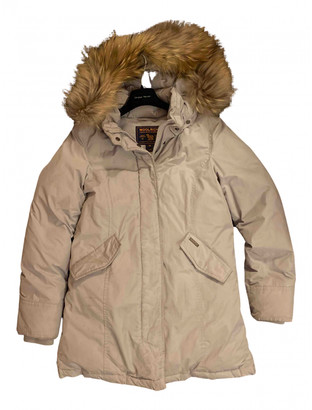 Woolrich Grey Synthetic Jackets & Coats
