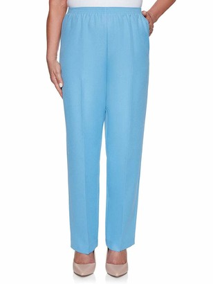 Alfred Dunner Women's Classic FIT Short Length Pant