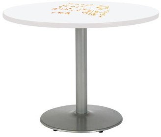 """KFI Studios Round Mode Pedestal Table Size: 29"""" H x 48"""" L x 48"""" W"""