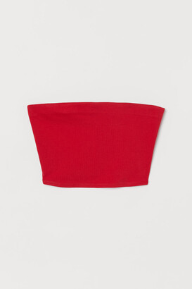 H&M Jersey Top - Red