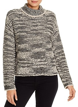 Eileen Fisher Petites Marled Turtleneck Sweater - 100% Exclusive