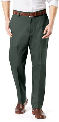 Dockers Men's Signature Khaki Lux Classic-Fit Stretch Pants