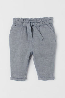 H&M Trousers with turn-ups