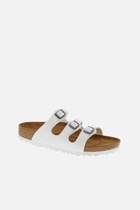 Birkenstock ida White Birko Sandals