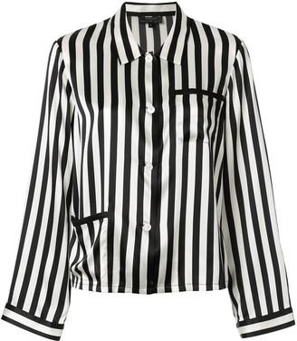 Morgan Lane Ruthie striped pyjama shirt