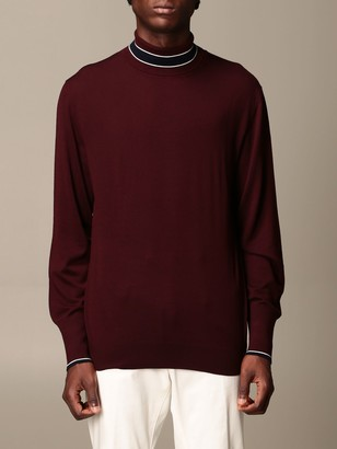 Eleventy Sweater Platinum Pullover In Shaved Wool