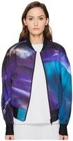 Yohji Yamamoto AOP PES Bomber Jacket Women's Coat
