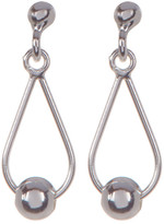 Argentovivo Sterling Silver Teardrop Dangle Earrings