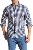 Nordstrom Plaid Long Sleeve Trim Fit Shirt
