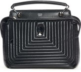 Fendi 'DOTCOM Click' Quilted Leather Satchel
