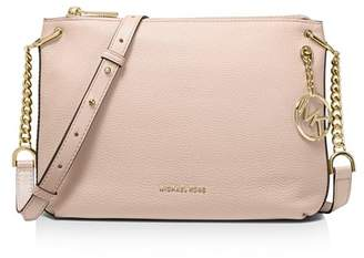 MICHAEL Michael Kors Lillie Large Leather Messenger Bag