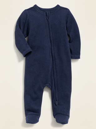 Old Navy Unisex Cozy Footed One-Piece for Baby