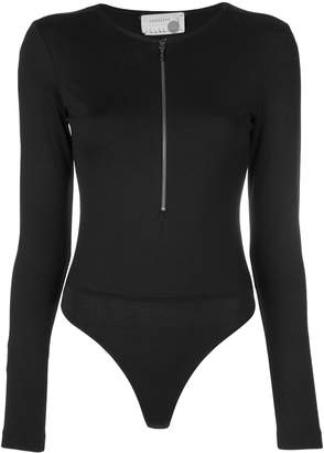 Nicole Miller ponte bodysuit