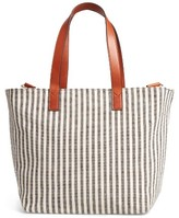 Sole Society Linds Fabric Tote - Black