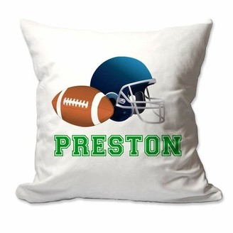 Zoomie Kids Rivas Football Throw Pillow Cover Customize: Required