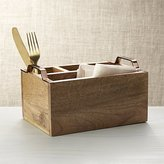 Crate & Barrel Beck Flatware Caddy