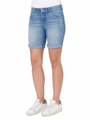 """Democracy Women's 7"""" Cuffed Short with Ab Solution Technology"""