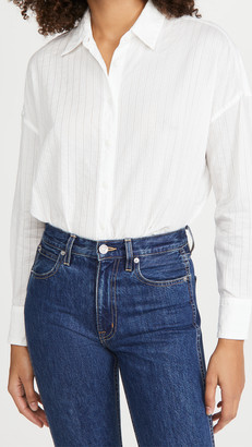 Rag & Bone/JEAN Long Sleeve Tie Shirt