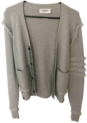 Thom Browne Grey Wool Knitwear for Women