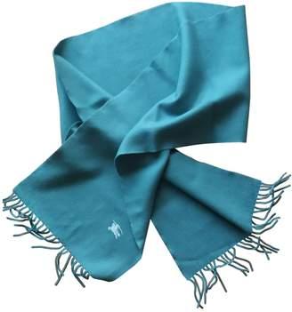 Burberry Blue Wool Scarves & pocket squares