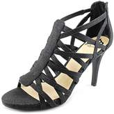 Fergalicious Hattie Women US 6.5 Black Sandals
