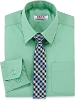 Izod Dress Shirt and Tie Set - Preschool Boys 4-7
