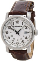 Wenger Urban Classic Analog Watch - Leather Strap